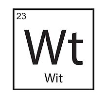 The Element of Wit by StewNor