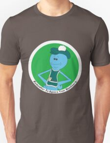 Mr. Meeseeks: Remember To Square Your Shoulders T-Shirt