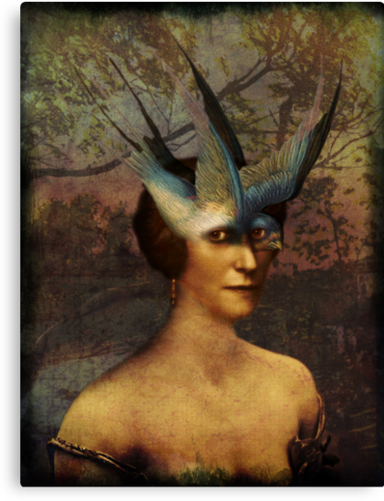 Bird Woman by Catrin Welz-Stein