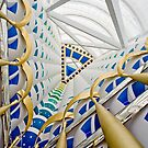 Burj Al Arab - interior 1 by David Clarke