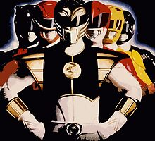 Mighty Morphin Power Rangers 2 by Zanie