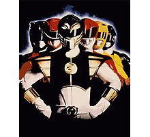 Mighty Morphin Power Rangers 2 Photographic Print