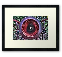 Canon meets cannon. Framed Print