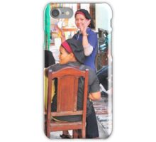 Preparing for the lunch rush!!!! Siem Reap, Cambodia iPhone Case/Skin