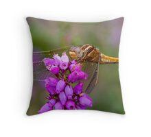 Keeled Skimmer Throw Pillow