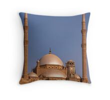 Citadel of Cairo Throw Pillow