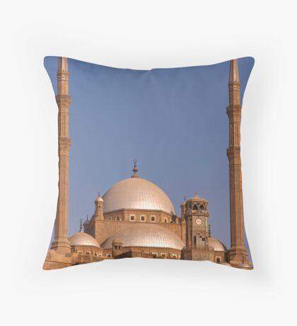 Citadel of Cairo Throw Pillow