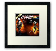 Shredder and Krang Framed Print