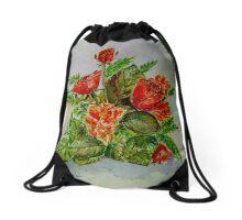 Celebration Bouquet Drawstring Bag
