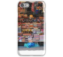 Shop work Khmer style, Siem Reap, Cambodia iPhone Case/Skin