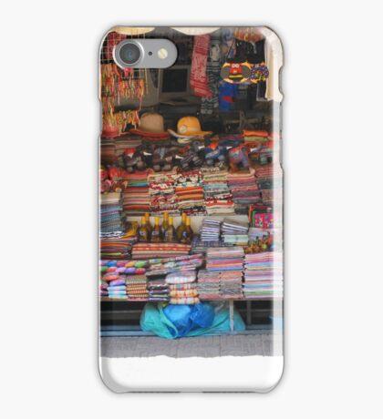 Shop work Khmer style, Siem Reap, Cambodia iPhone Case/Skin