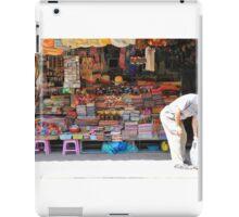Shop work Khmer style, Siem Reap, Cambodia iPad Case/Skin