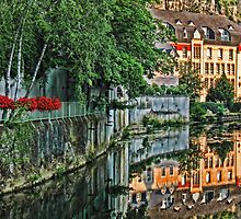Luxembourg city, Luxembourg by vadim19