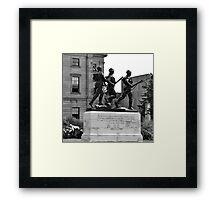 Charlottetown Cenotaph (War Memorial) Framed Print