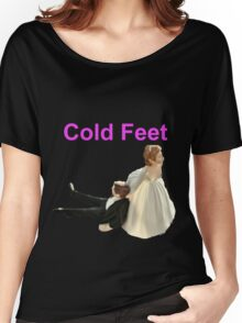 Cold Feet Pink Women's Relaxed Fit T-Shirt