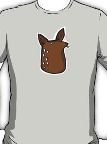 Licky Deer Head T-Shirt