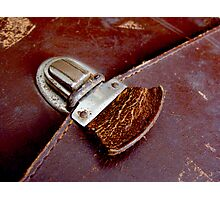 Leather & Latch Photographic Print