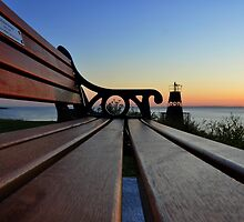 Lighthouse Bench by Kevin Cotterell