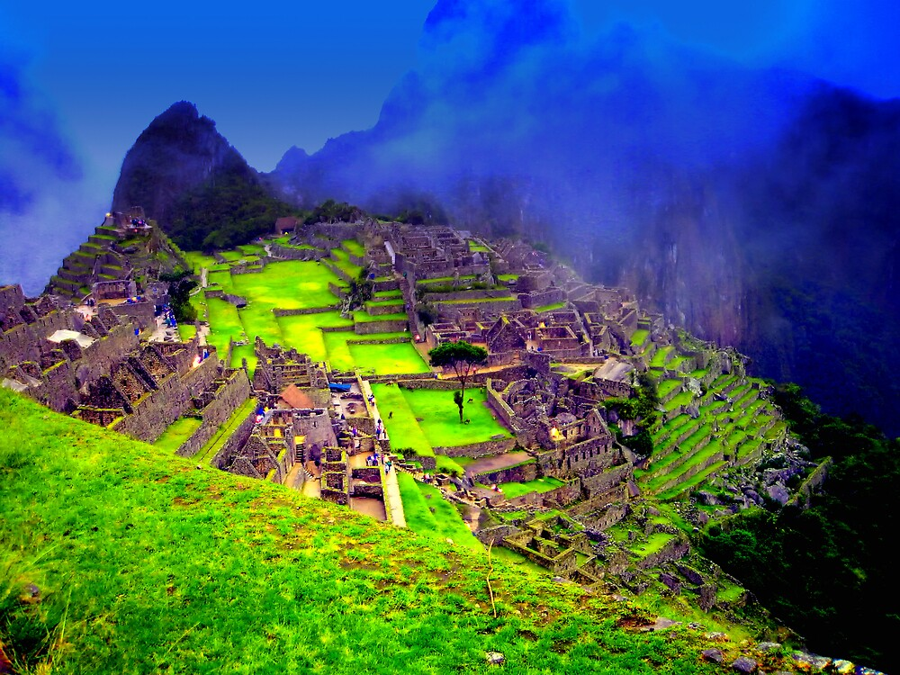 Machu Pichu, The remains of the Inca Civilization by TheSpaniard