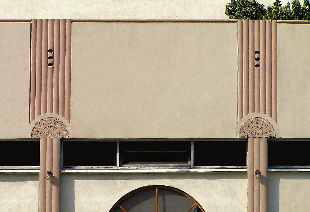 art deco façade by Christopher Biggs