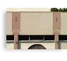 art deco façade Canvas Print