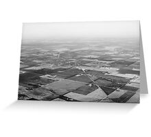 The Plains Greeting Card