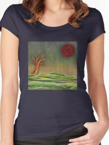 Wake To Greet The Morning III Women's Fitted Scoop T-Shirt