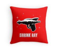 Shrink Ray Throw Pillow