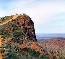 Sillers Lookout, Arkaroola, South Australia by Christopher Biggs
