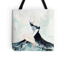 messages across the sea Tote Bag