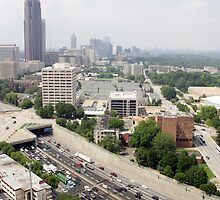 Downtown Atlanta By Day by paulco99