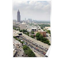 Downtown Atlanta By Day Poster