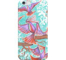 Crazy Birds! iPhone Case/Skin
