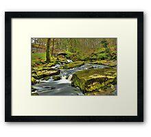 Waterfall Sally Gap Framed Print