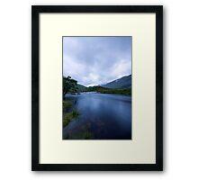 Glen Etive Dusk Framed Print
