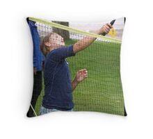 Badminton Throw Pillow