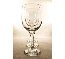 Wineglass Window Photographic Print