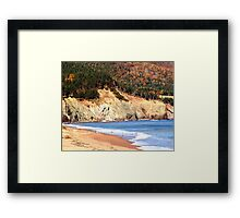 Aspy Bay,Cape Breton Framed Print