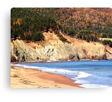 Aspy Bay,Cape Breton Canvas Print