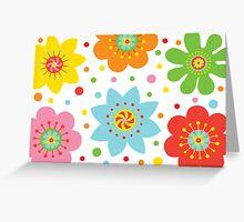 Cheers Flower - Card Greeting Card