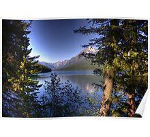 Bowman Lake Poster