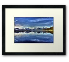 Lake McDonald Framed Print