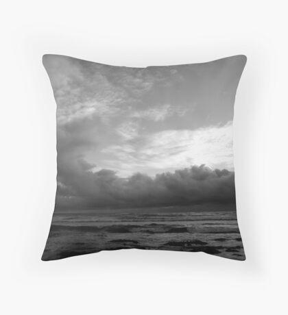 """""""Dragon Storm Cloud"""" Throw Pillow"""