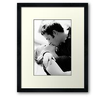 A Kiss to remember Framed Print