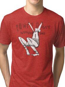 pants down #1 Tri-blend T-Shirt