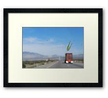 bug splatter. Framed Print