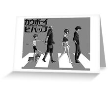Cowboy Bebop anime spike jet faye shirt Greeting Card