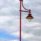 Lamp at Seaton,Devon UK by lynn carter