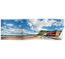Merewether ocean baths Poster