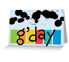 G' day - card Greeting Card